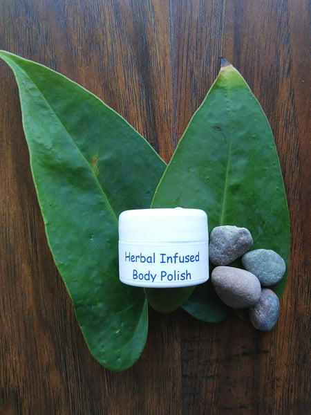 Herbal Infused Body Polish Sample