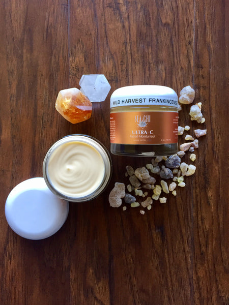 NEW ~ Wild Harvest Frankincense Ultra C Facial Moisturizer