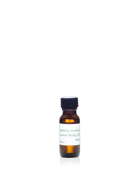 Jasmine Sambac Lovers Body Oil - 1/2oz / 15ml (sample)