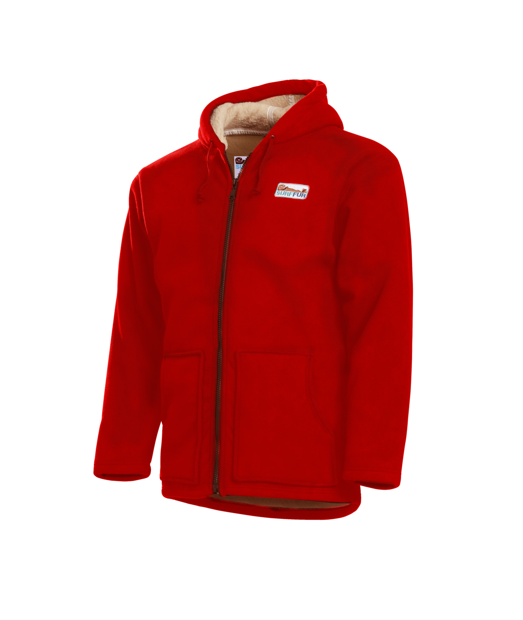 SurfCheck Hoodie in RED
