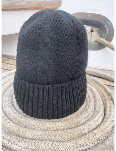 Surf-fur Beenie in Navy blue