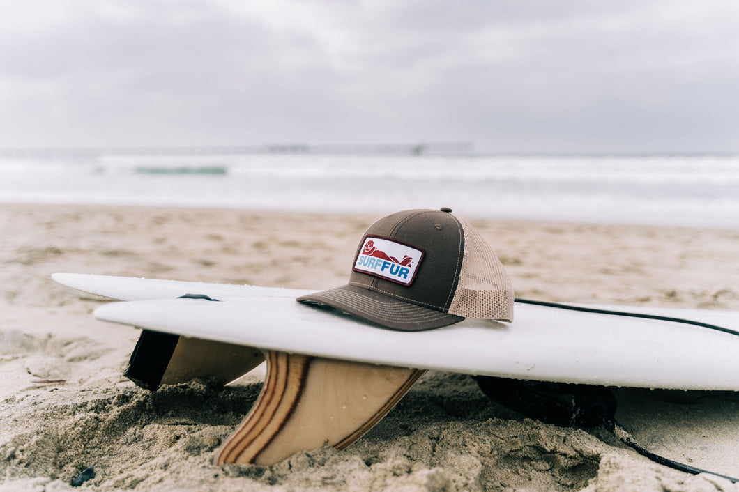 Surf-fur Lucky hat- tan/brown