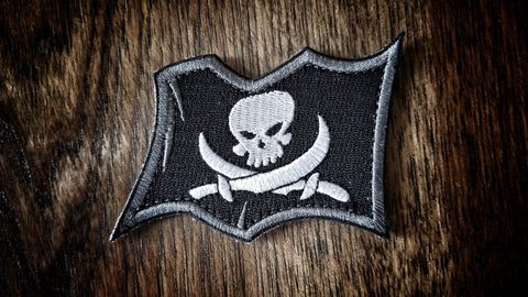 Catastrophe Jack Waving Flag patch LIMIT 2 PER HOUSEHOLD FOR DEC13-15