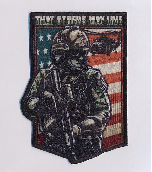 """The PJ"" tribute morale patch"