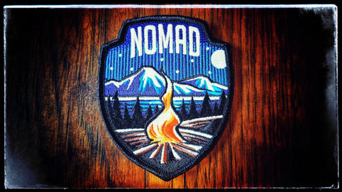Nomad Badge (Campsite) LIMIT 2 OF THIS PATCH TOTAL PER HOUSEHOLD
