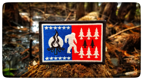 DZ Yeti Flag morale patch