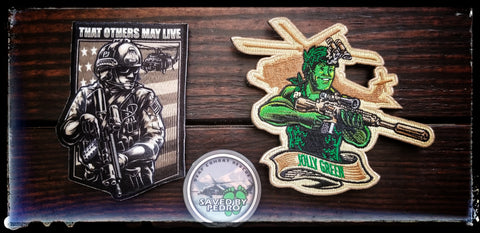 Jolly 51 tribute patches
