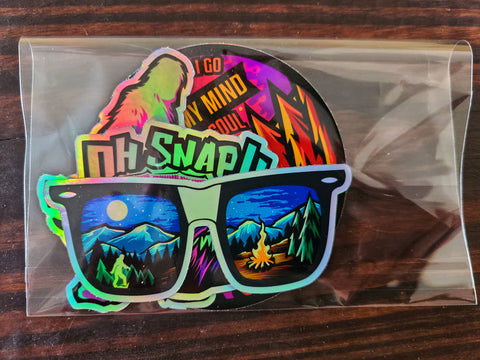 Holographic Slap pack- 4 pack