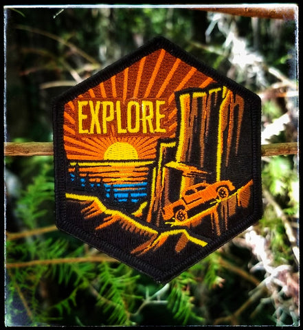 """Tacoma Sunset""  LIMIT 2 OF THIS PATCH TOTAL PER HOUSEHOLD"