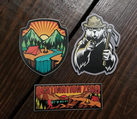 Sticker 3-pack #1