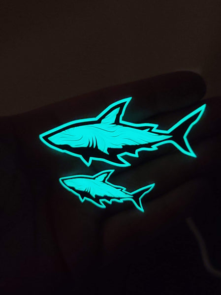 Acrylic Shark Set 1 PER HOUSEHOLD