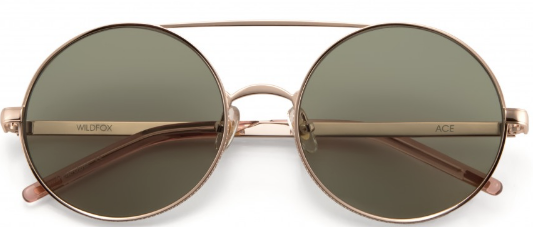 Wildfox Ace Rose Gold