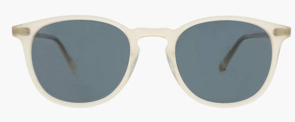 Garrett Leight Kinney 49 Light Beige/Blue Smoke Polarized