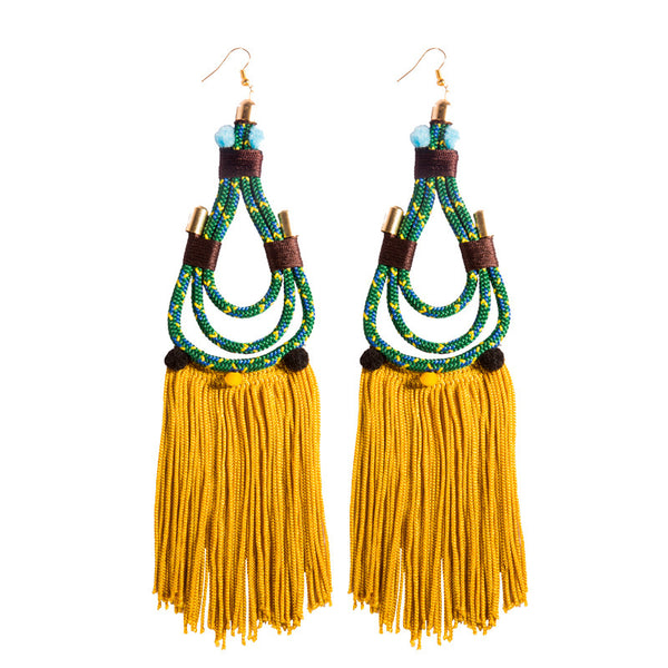 Green Lapa Earrings