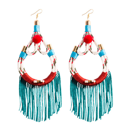 White Lapa Earrings