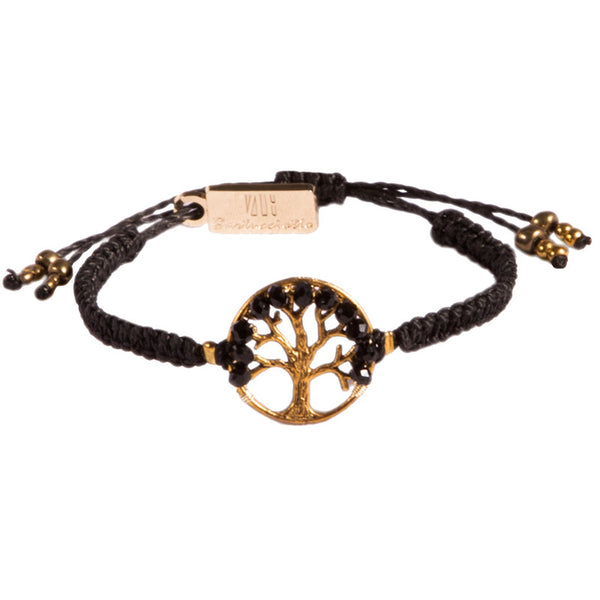 Tree of Life Bracelet - Black