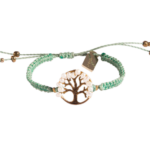 Tree of Life Bracelet - Light Blue