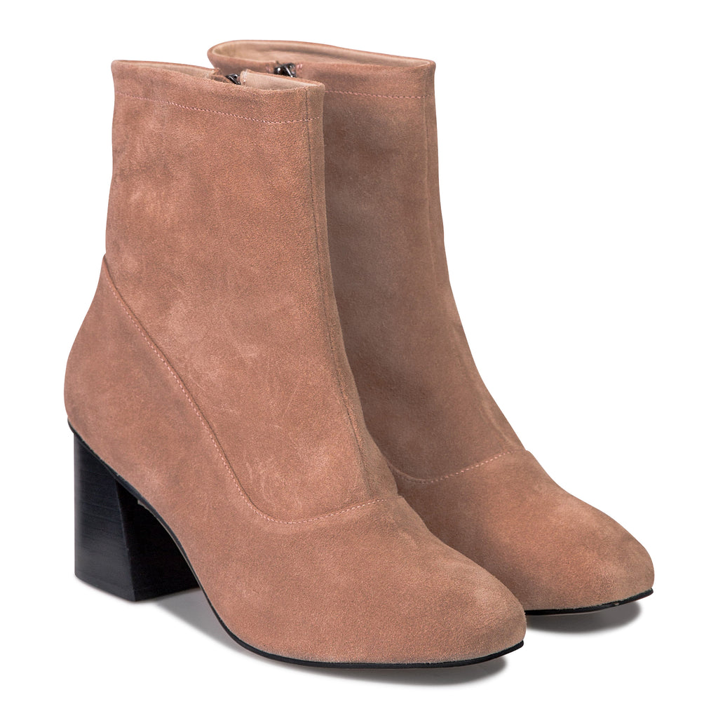 Stevie Boot - Rose Suede