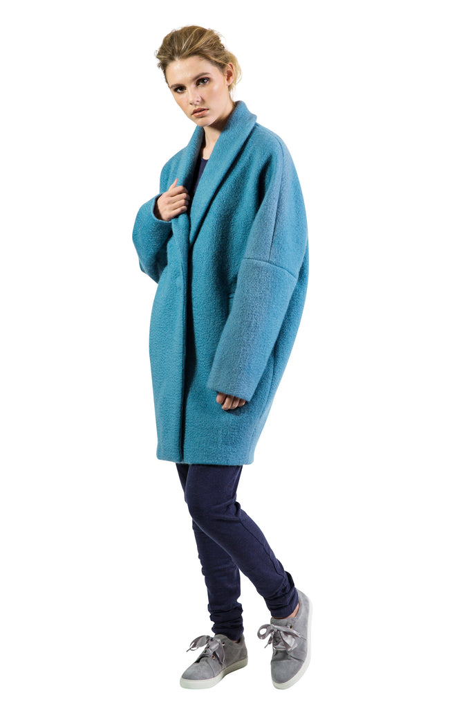 Whisper Coat - Teal