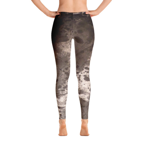 Rogers Handpainted Design Leggings