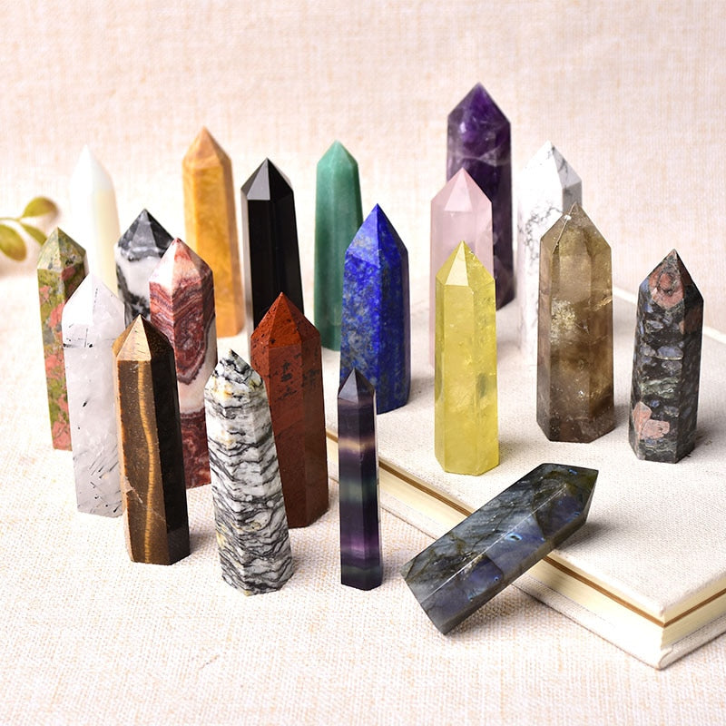 Natural Stones Crystal Point For Home Decor