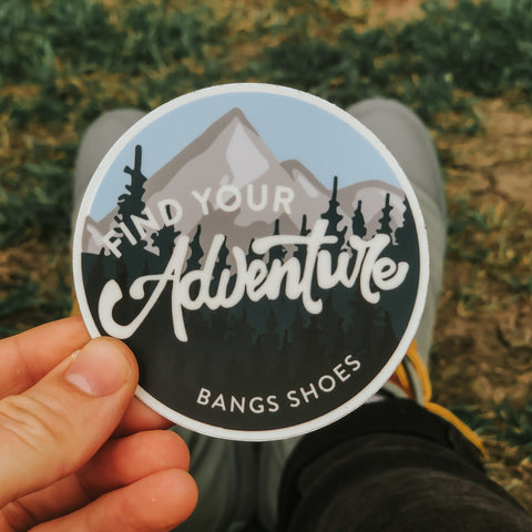 Find Your Adventure Sticker