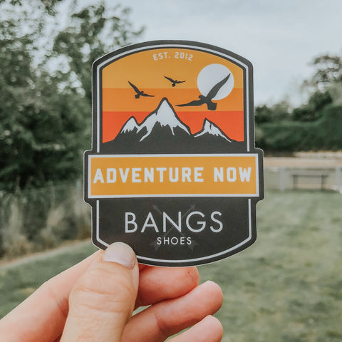 Sunrise Adventure Sticker