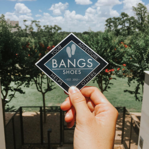 BANGS Shoes Stickers