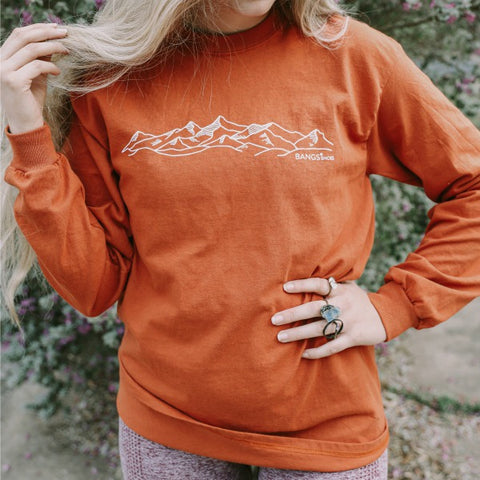 Mountain Long Sleeve Tee