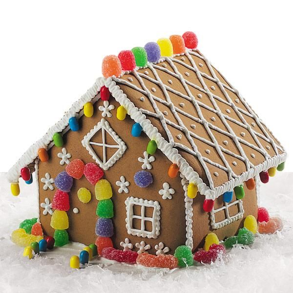 Gingerbread House Soy Candle Tin