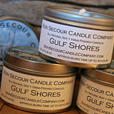 Gulf Shores Soy Candle Tin