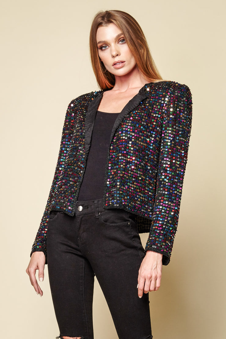 One-of-a-kind Vintage Beaded Jacket
