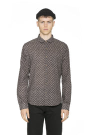 LS BUTTON-DOWN CASUAL-POINT COLLAR & CLASSIC HEM