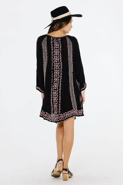 LOLITA LONG SLEEVE DRESS