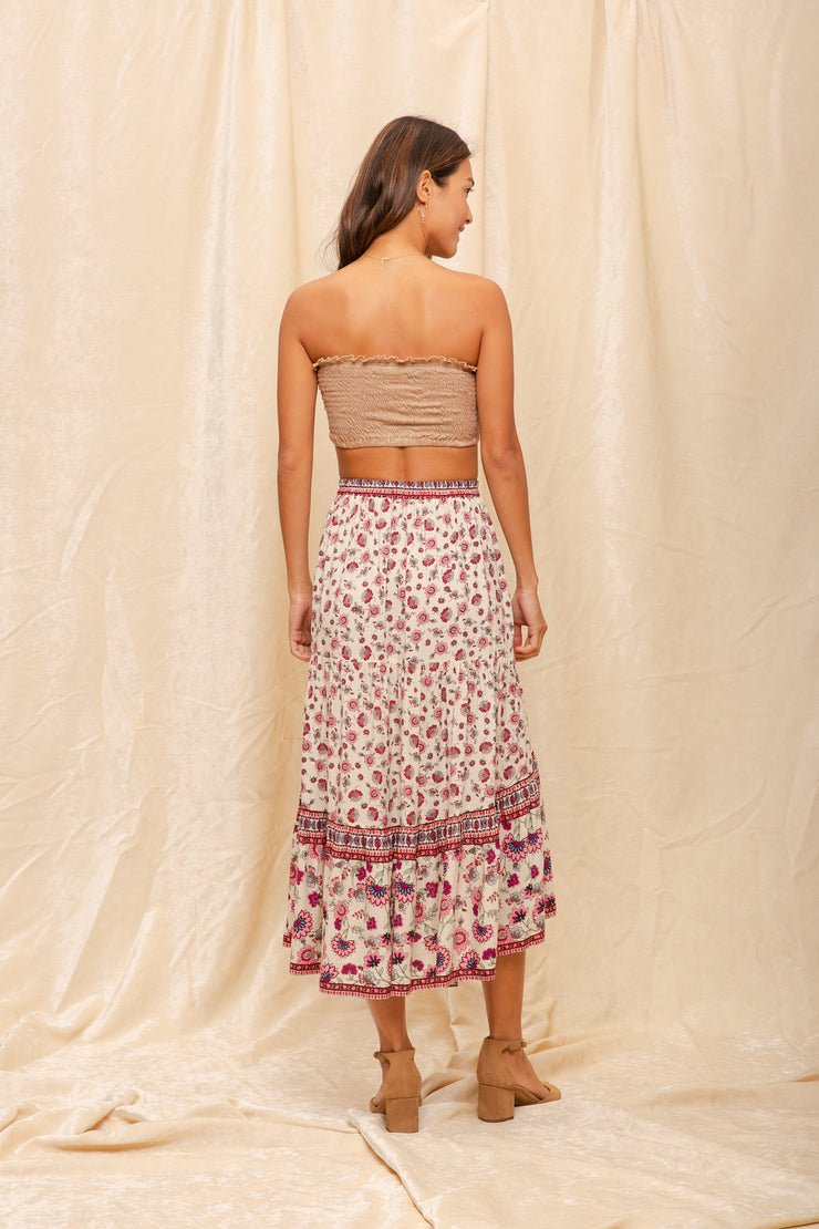 Hiroka Hi-Low Skirt