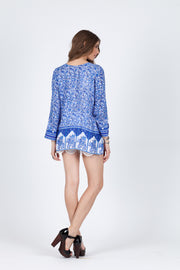 Gypsy Blues Blouse