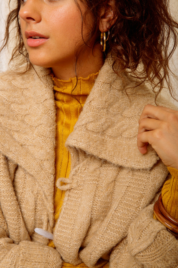 Timber Trail Toggle Cardigan