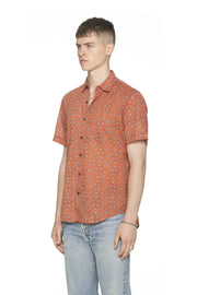 SS BUTTON-DOWN CASUAL-POINT COLLAR & CLASSIC HEM