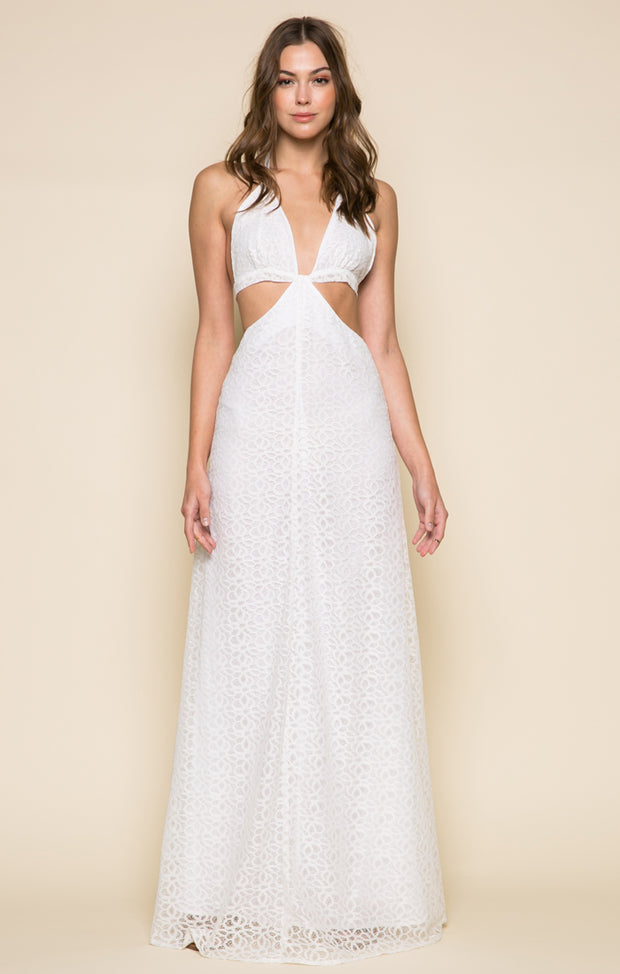 Audrey Cutout Maxi Dress