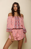 ENDLESS LOVE POM-POM ROMPER