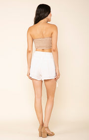 Golden Rules Drawstring Shorts