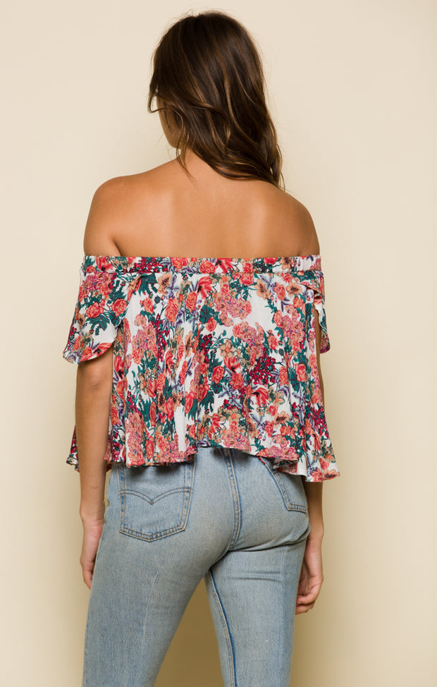 Garden Delight Crop Top