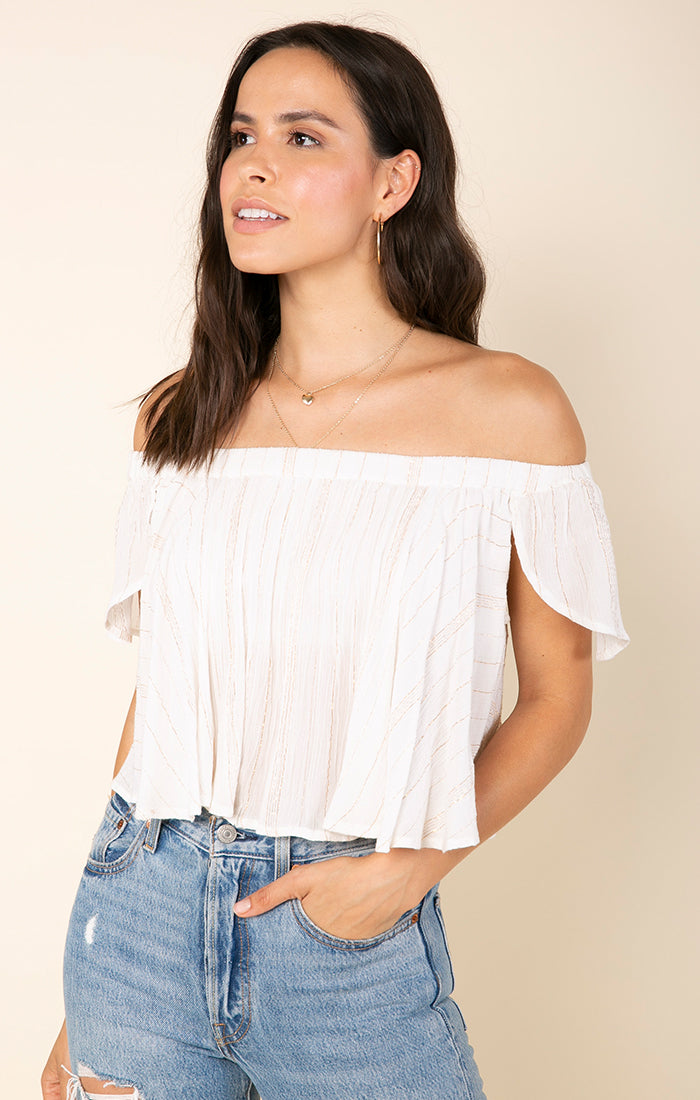 Golden Rules Crop Top