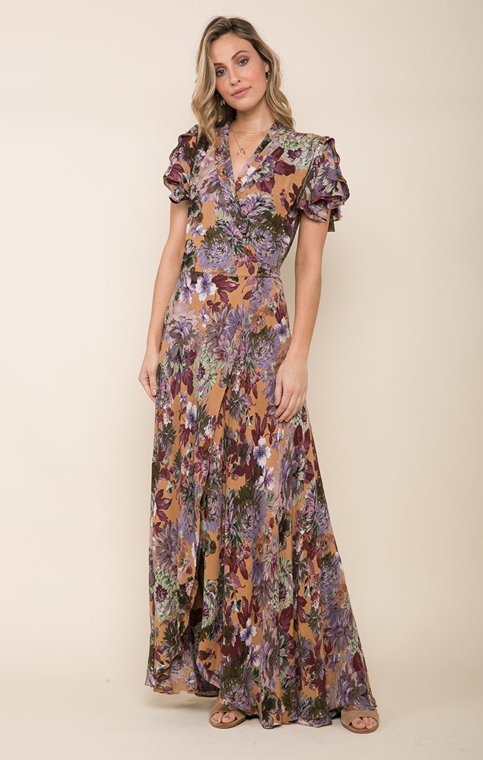 Dear Dahlia Wrap Dress