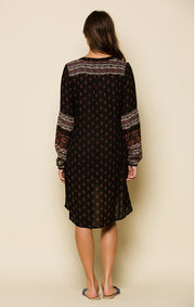 Nocturnal Daze Tunic Dress