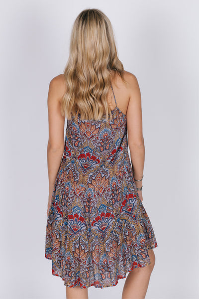 Desert Flower Short Dress