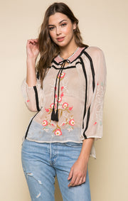 The Tigerlily Blouse
