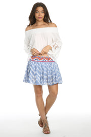 Coastal Caves Mini Skirt