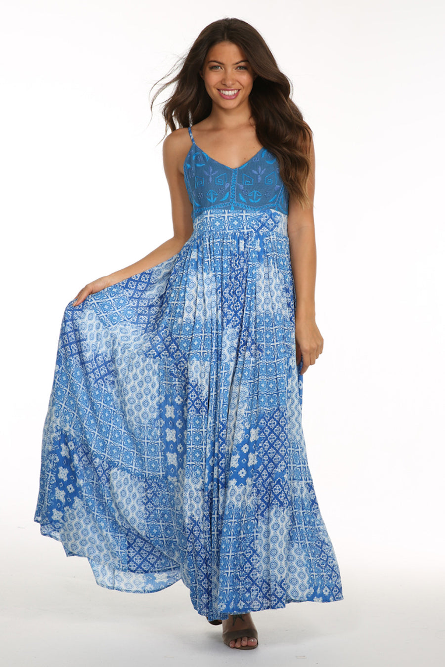 Coastal Kiss Maxi Dress