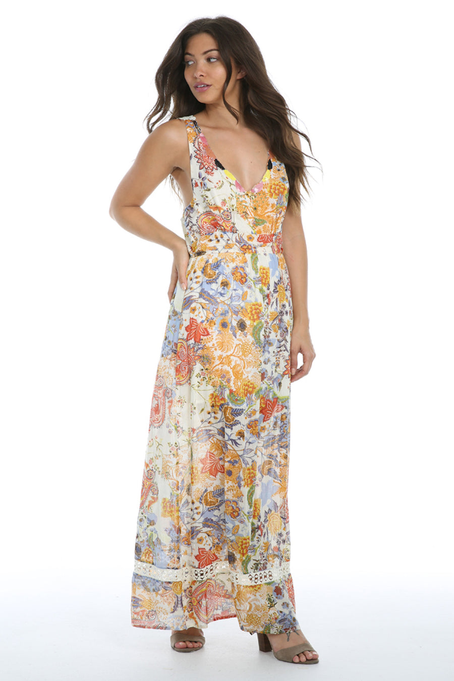 In Full Swing Maxi Dress